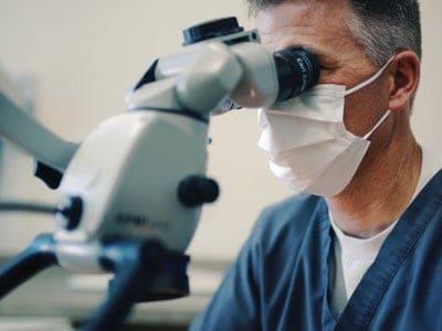 Endondontic microscope